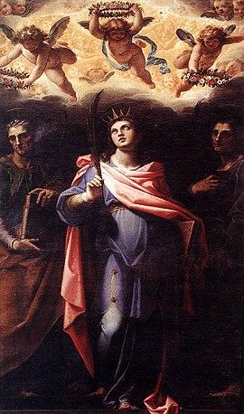 Flavia Domitilla, Heilige