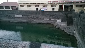 Sajjangad - Sonale talav on the fort