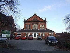 English: Salem Church Sunday School Adjacent t...