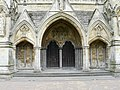 Salisbury - The Main Doors Of The Cathedral - geograph.org.uk - 943788.jpg