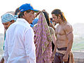 Salman Khan on the sets of the film Veer 02.jpg