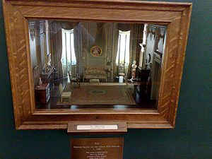 Room box - One of the 68 Thorne Rooms, elaborate room boxes designed by Narcissa Niblack Thorne in the 1930s and 40s