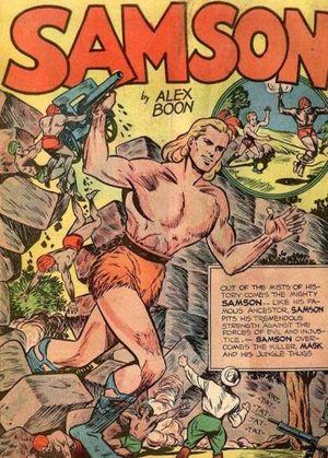 Samson (Fox Feature Syndicate) - Image: Samson comic page
