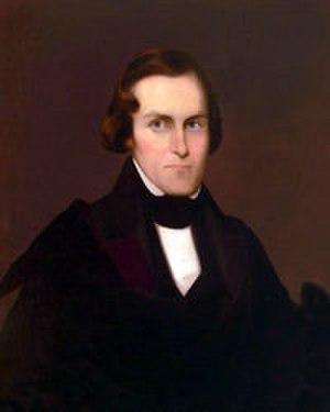 Alpha Delta Phi - Portrait of Samuel Eells
