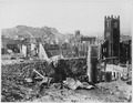 San Francisco Earthquake of 1906, Area north of California street in the vicinity of Grant Avenue showing Telegraph... - NARA - 531015.tif