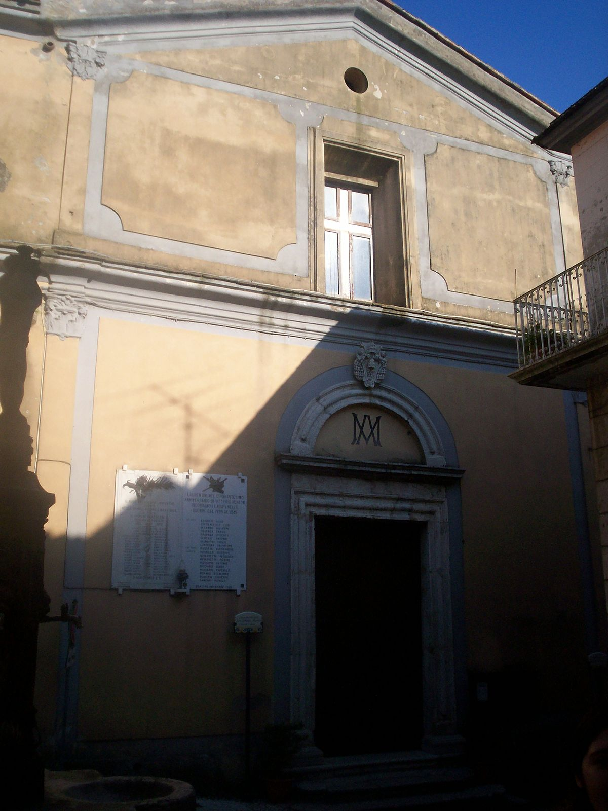 Chiesa di san lorenzo san lorenzello wikipedia for San lorenzello