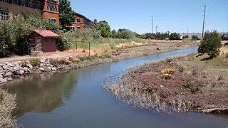 San Rafael Creek river in the United States of America