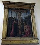 San domenico, fiesole, int., scuola del botticelli, crocifissione.JPG