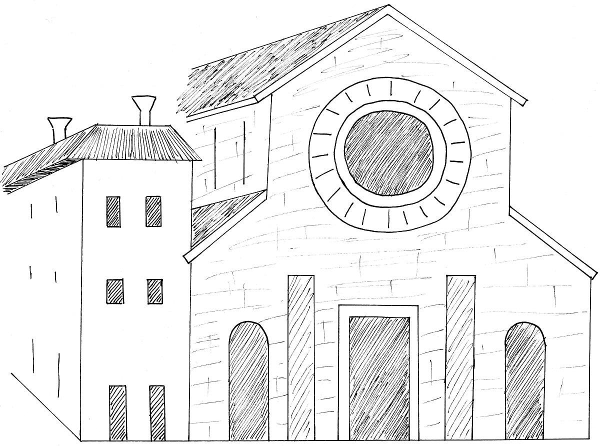 Basilique san pietro de dom wikip dia - Elementi architettonici di una chiesa ...