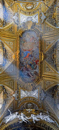 Santa Maria dell'Orto (Rome) - Ceiling.jpg