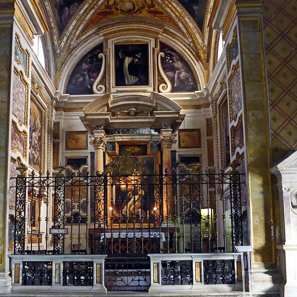 File:Santa Maria sopra Minerva, Cappella Cafarelli.JPG ...