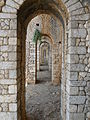 Santuario di Monte Sant'Angelo. Terrazza inferiore. Galleria prospettica 5.JPG