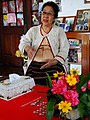 Sao Sarm Hpong (Fern) - Royal Caretaker of Shan Palace - Outside Hsipaw - Myanmar (Burma) (12223986676).jpg