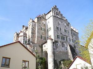 Sandersdorf Castle - Image: Schloss Sandersdorf Schloss