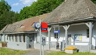 Schopp station railway station in Schopp, Germany