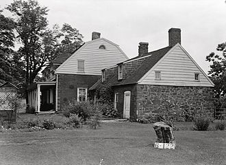 Schuyler Colfax - Ancestral home of Schuyler Colfax's grandparents William and Hester. Originally built in 1695.