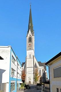 Schwanenstadt Place in Upper Austria, Austria