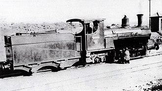 Namaqualand 0-6-2 Scotia Class - Image: Scotia Class 0 6 2 a