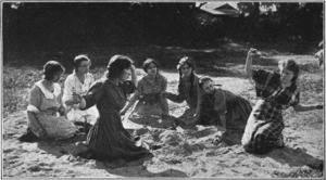 Hoodoo Ann - Mae Marsh in scene from film