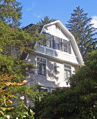 Scribner House (Cornwall, New York) - South profile of house, 2008