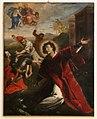Scuola del cigoli, lapidazione di santo stefano, xvii secolo.jpg