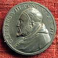 Scuola romana, medaglia di clemente VIII, 1598, arg 2.JPG
