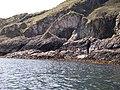 Sea Arch on Garvellachs - geograph.org.uk - 162634.jpg