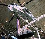 Sea King lifting Apollo Command Module- Evergreen Aviation & Space Museum - McMinnville, Oregon - DSC00825.jpg