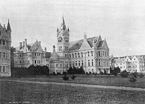 Janet Frame - Seacliff Lunatic Asylum in the Otago region, where Frame was first committed in 1945.