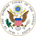 US Supreme Court Banner Seal