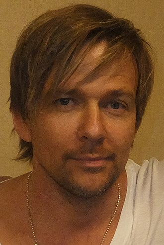 Sean Patrick Flanery - Flanery at the Chiller Theatre Expo in April 2014.
