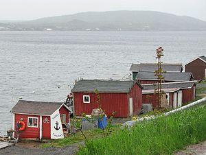 Dildo, Newfoundland and Labrador - Image: Seaside (27663398350)