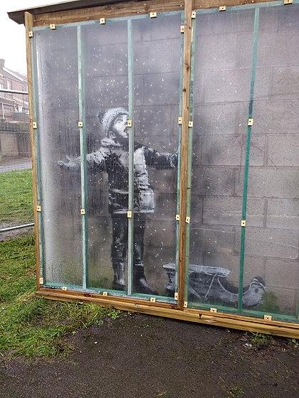 Season's Greetings (Banksy)