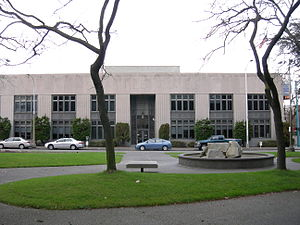 Seattle Times Building - The building's exterior in 2007