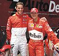 Sebastian Stahl mit Michael Schumacher, Ingo Iserhardt Sportmanagement, MotorLive, Fiorano.jpg