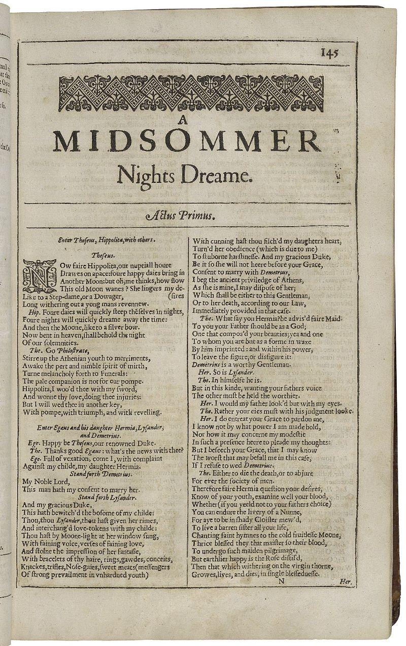 Second Folio Printing of A Midsummer Night%27s Dream.jpg