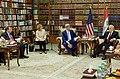 Secretary Kerry Sits With Iraqi Foreign Minister Ibrahim al-Jaafari (26304650965).jpg