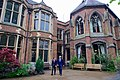 Secretary Kerry and Oxford Union President Harris Walk Across the Courtyard at the Oxford Union (26955496945).jpg