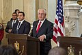 Secretary Tillerson Participates in a Joint Press Availability With Egyptian Foreign Minister Shoukry (39516147414).jpg