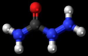 Semicarbazide - Image: Semicarbazide 3D ball