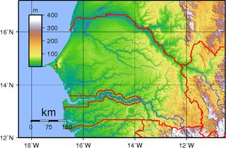 Geology of Senegal