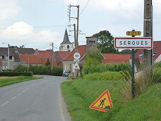 Serques Commune in Hauts-de-France, France