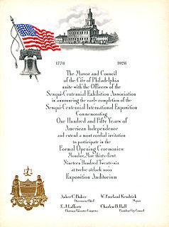Sesquicentennial Exposition