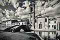 SfUILJ Centro storico di Comacchio - Ponte e Chiesa del Carmine.jpg