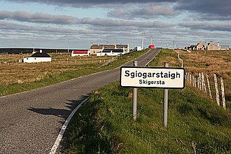 Skigersta - Image: Sgiogarstaidh geograph.org.uk 1345701