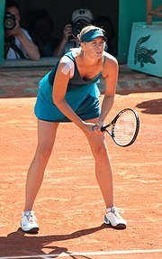 Sharapova Roland Garros 2009 6