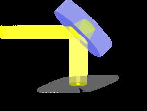 Shearing interferometer - Principle of the shearing interferometer.