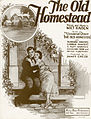 Sheet music cover - THE OLD HOMESTEAD (1922).jpg