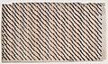 Sheet with diagonal stripe pattern Met DP886570.jpg