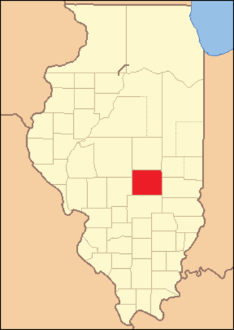 Shelby County, Illinois - Image: Shelby County Illinois 1829